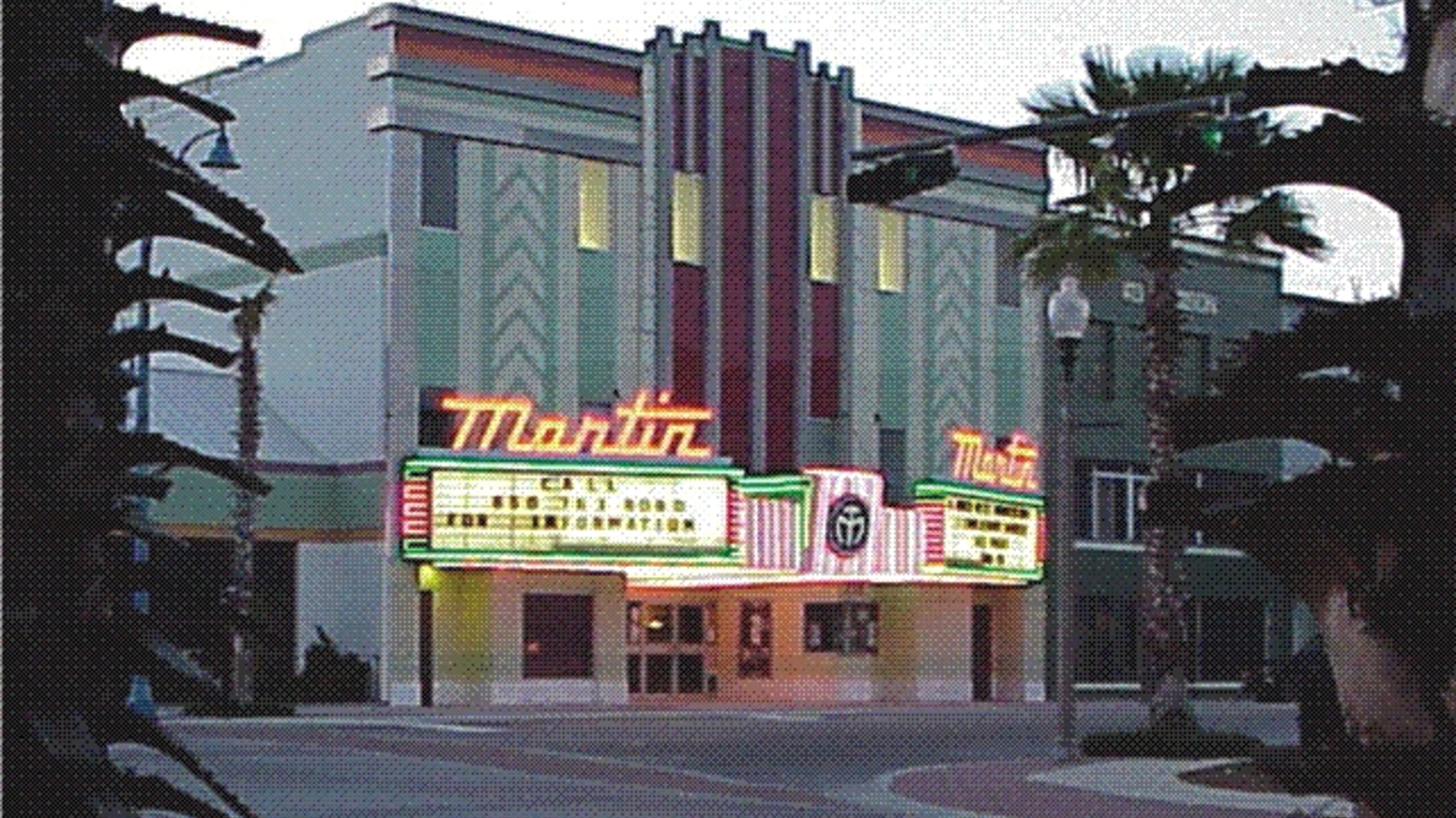 HELP US PUT MOVIES BACK ON THE MARQUEE!! by Martin Theatre — Kickstarter