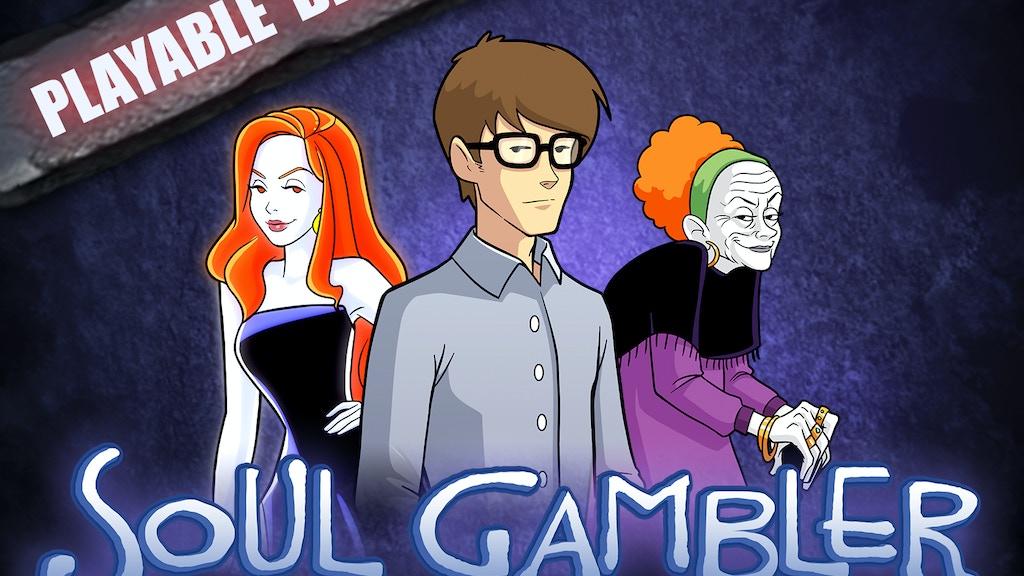 Soul Gambler - solo RPG adventure project video thumbnail