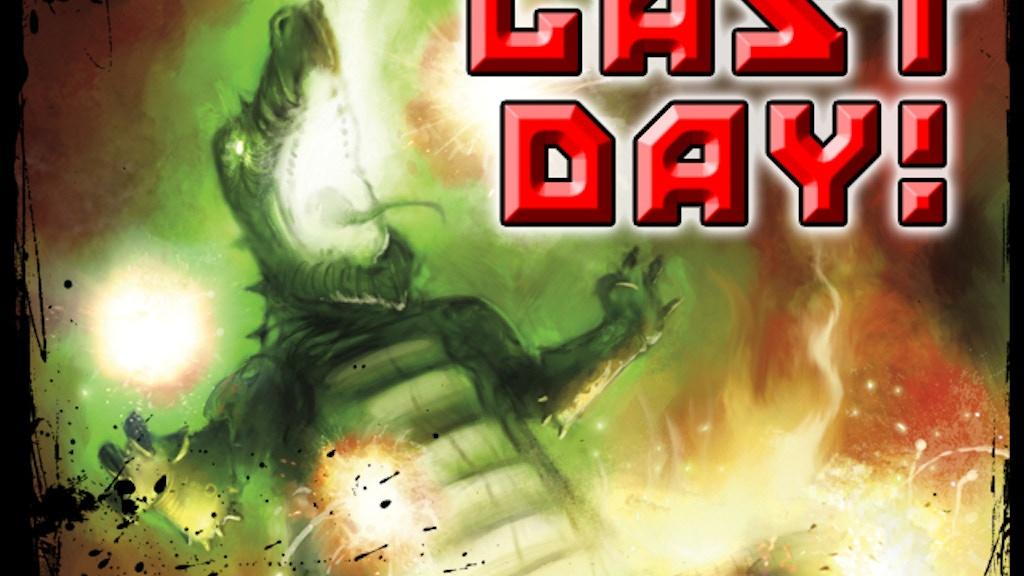 World War Kaiju graphic novel project video thumbnail