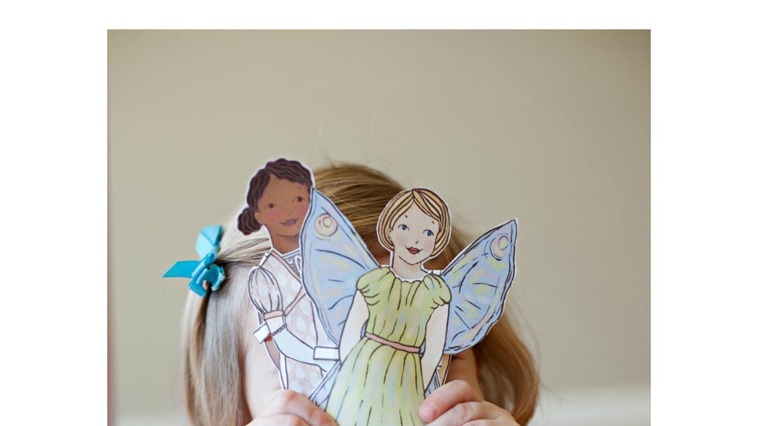 Paper Doll Coloring Book by Hannah Stevenson — Kickstarter