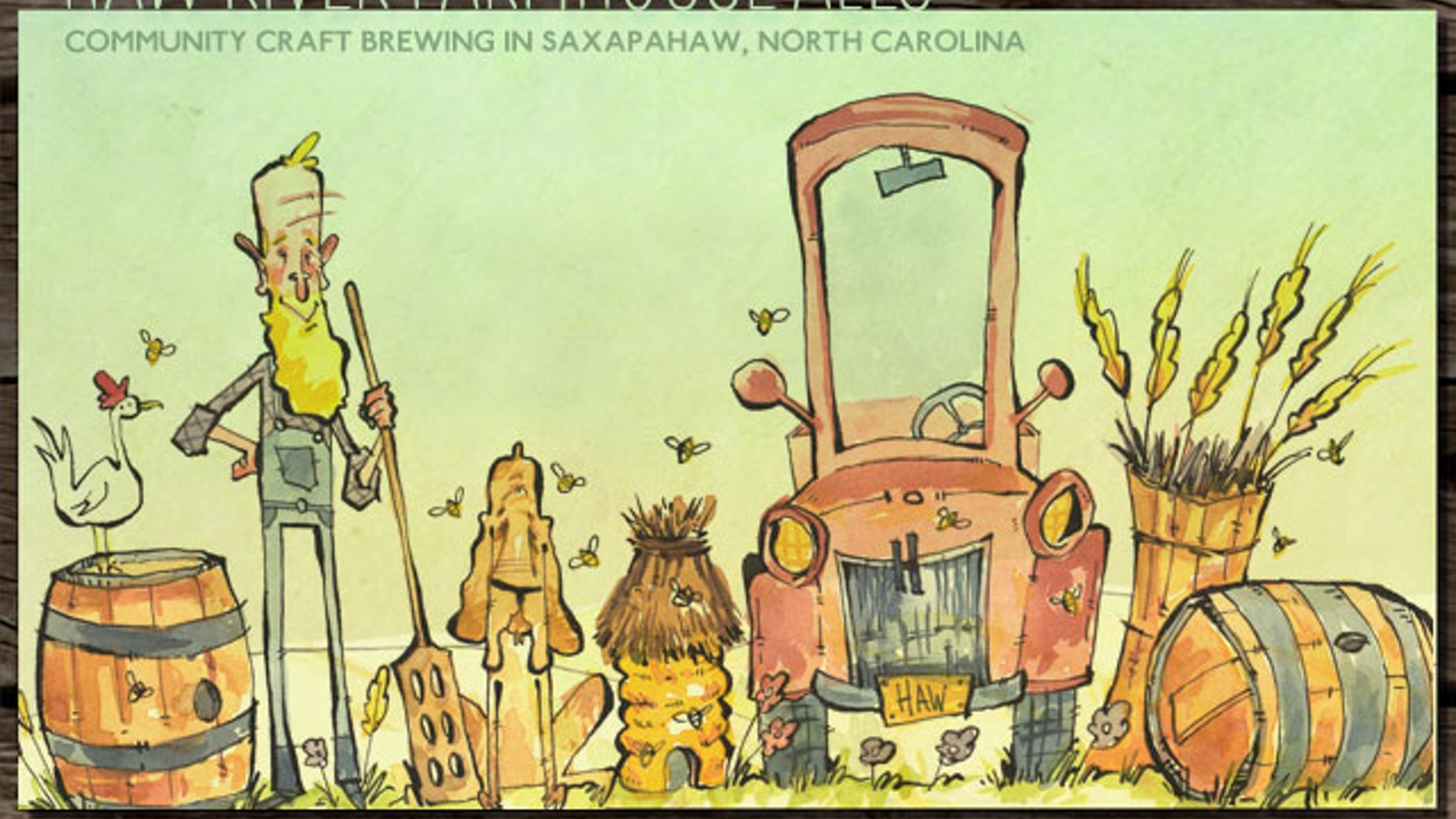 Haw River Farmhouse Ales  Craft Brewing in Rural NC by Ben Woodward ... e3ea25575