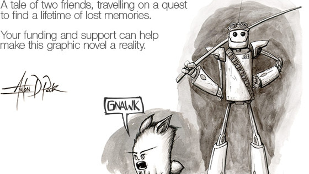 GATHER. A Graphic Novel project video thumbnail