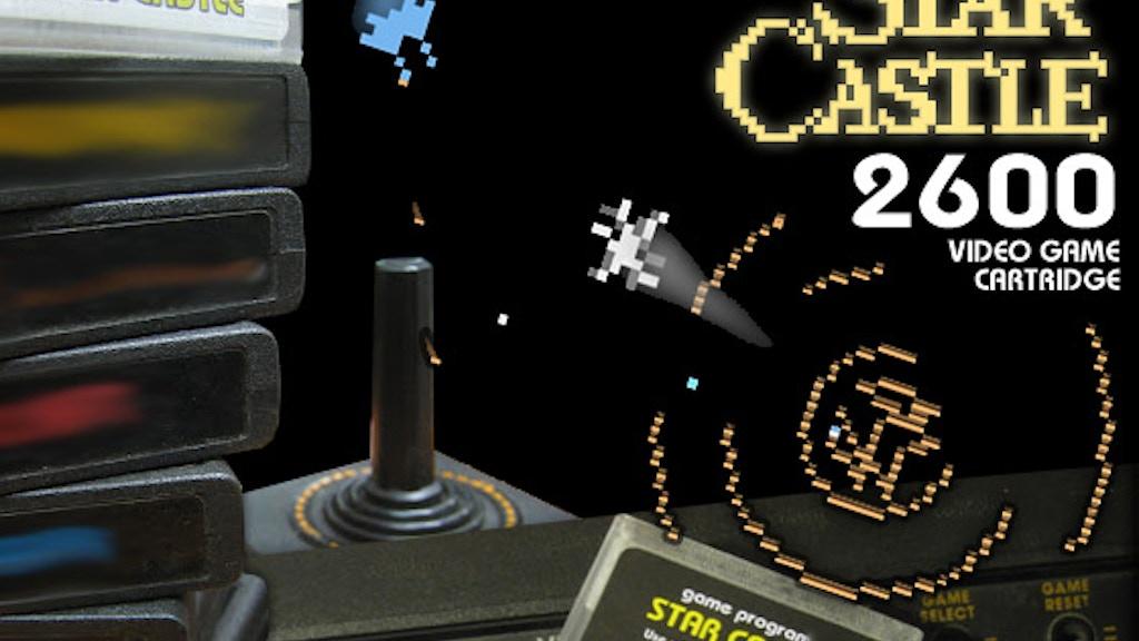 Atari 2600 Star Castle project video thumbnail