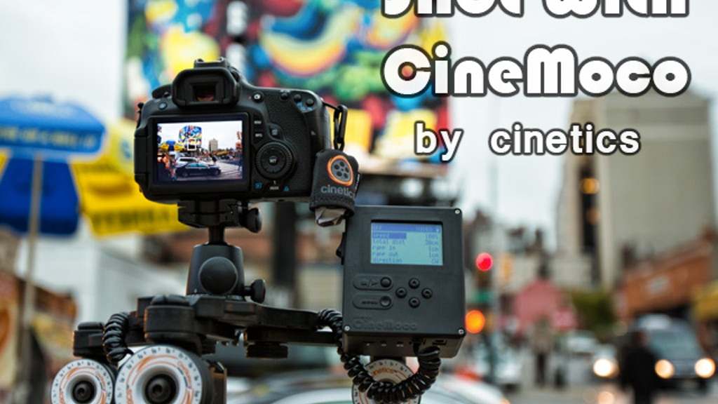 CineMoco ● Motor Control for your Camera project video thumbnail