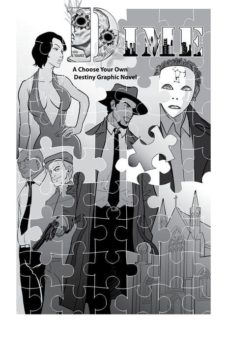 Dime a choose your own destiny graphic novel by alverne for Choose your own home