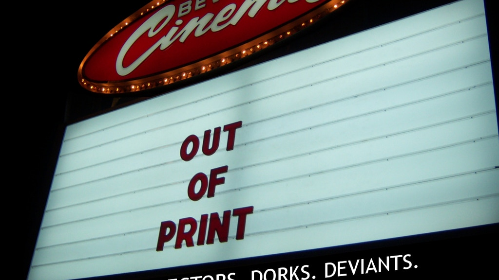 Out of Print - A Documentary about the New Beverly Cinema project video thumbnail