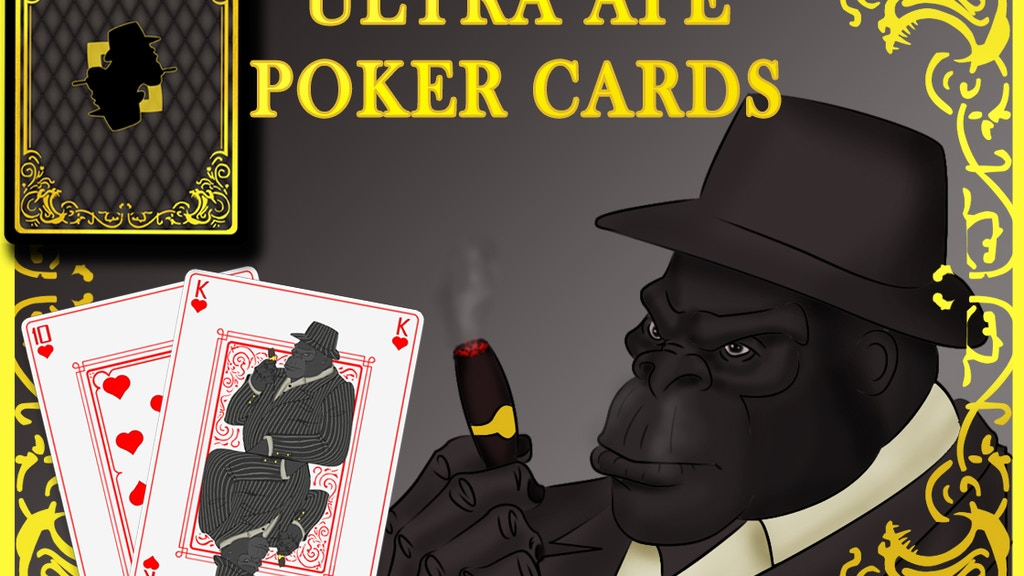 Project image for Ultra Ape Poker Playing Cards