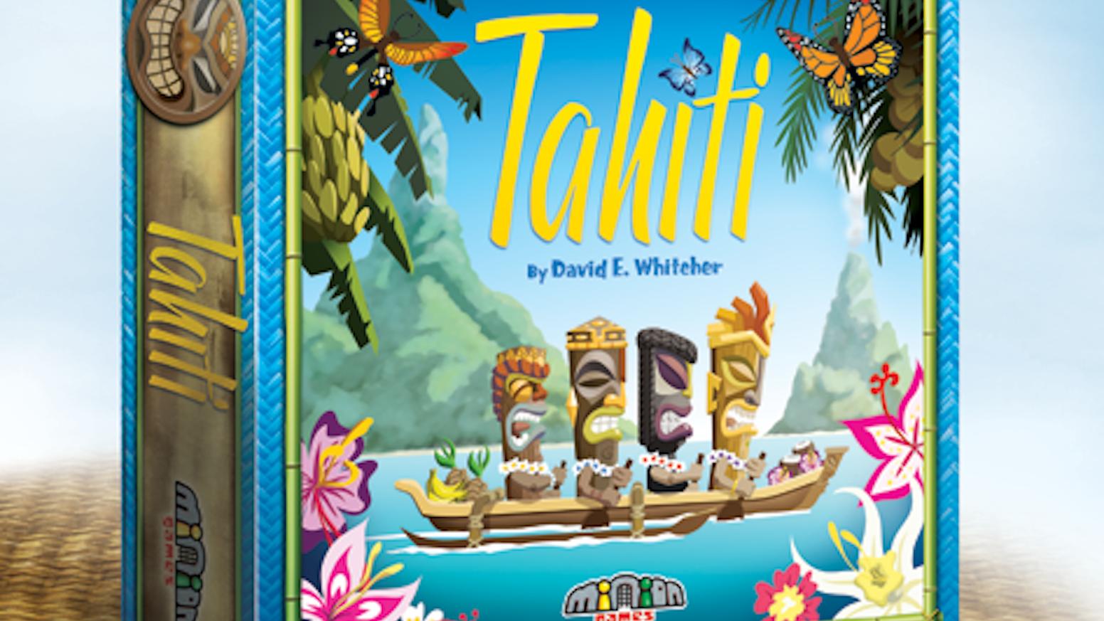 Tahiti - board game by Minion Games — Kickstarter