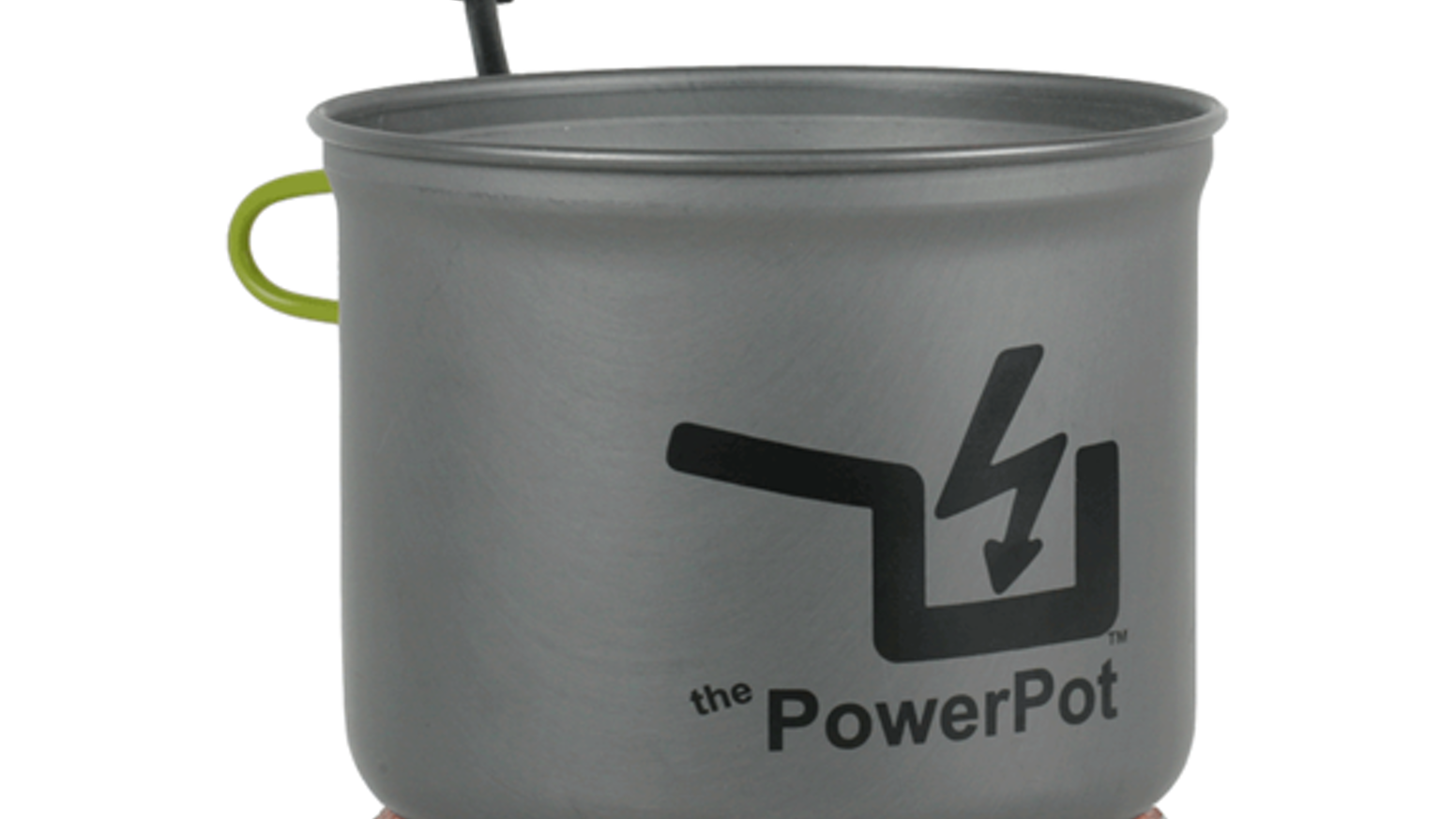 The PowerPot 5 is a thermoelectric generator that turns heat from cooking directly into USB power for your mobile devices.