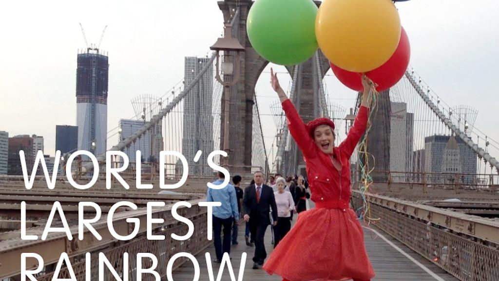 World's Largest Rainbow Parade by Jessi Arrington —Kickstarter