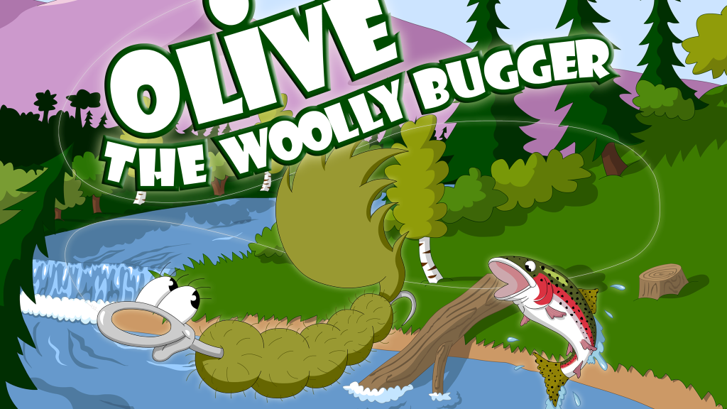 Olive the Woolly Bugger app project video thumbnail