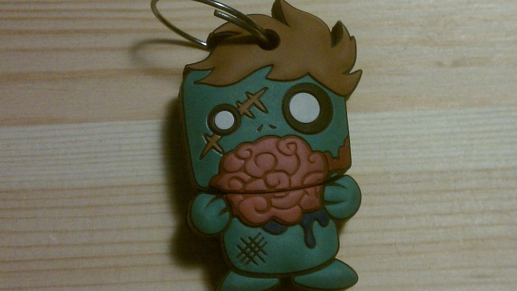 Zombie USB Keychain (Zed 1.0) project video thumbnail