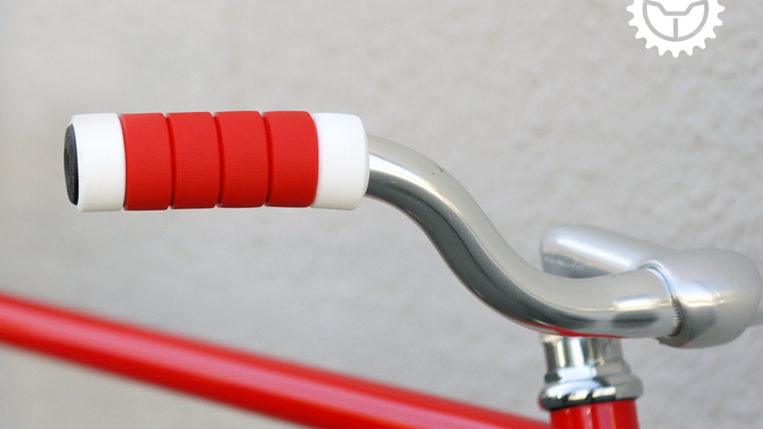 Griprings A Bicycle Grip Made Of Individual Silicone Rings By