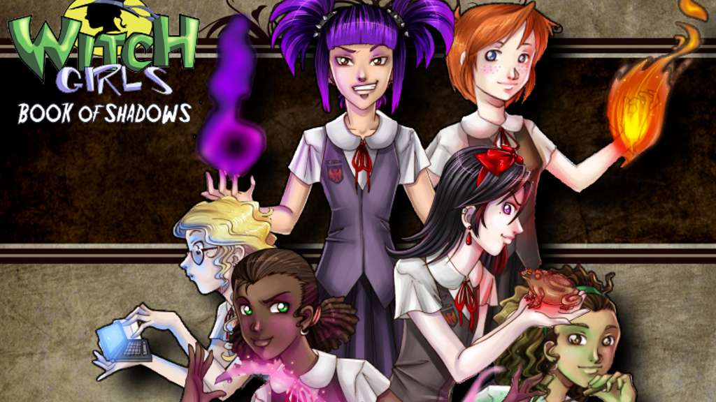 Witch Girls Book of Shadows. (Witch Girls Second Edition) project video thumbnail