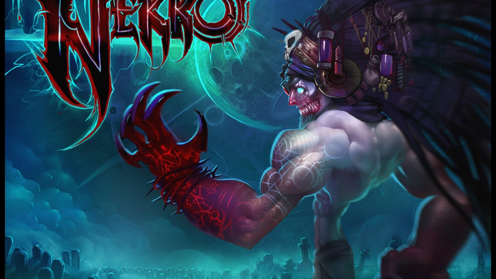 Nekro project video thumbnail
