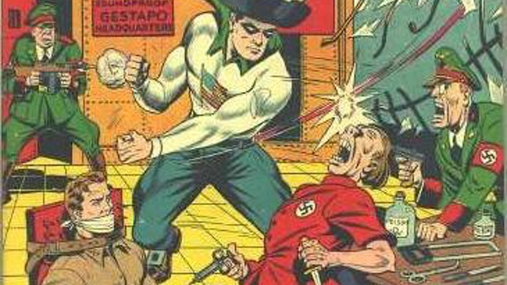The Encyclopedia of Golden Age Superheroes project video thumbnail