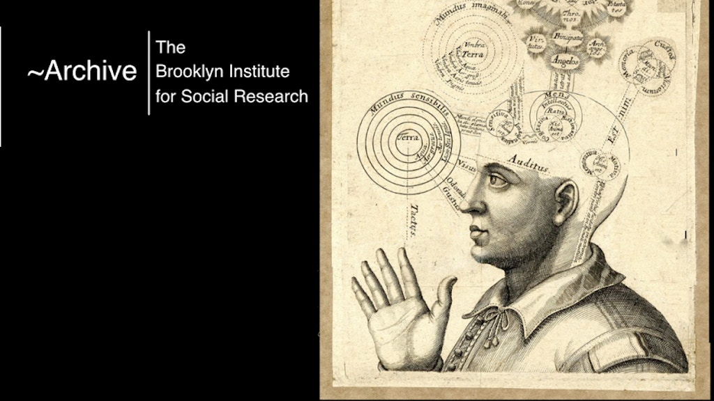 ~Archive: a Knowledge Tool by the Brooklyn Institute project video thumbnail