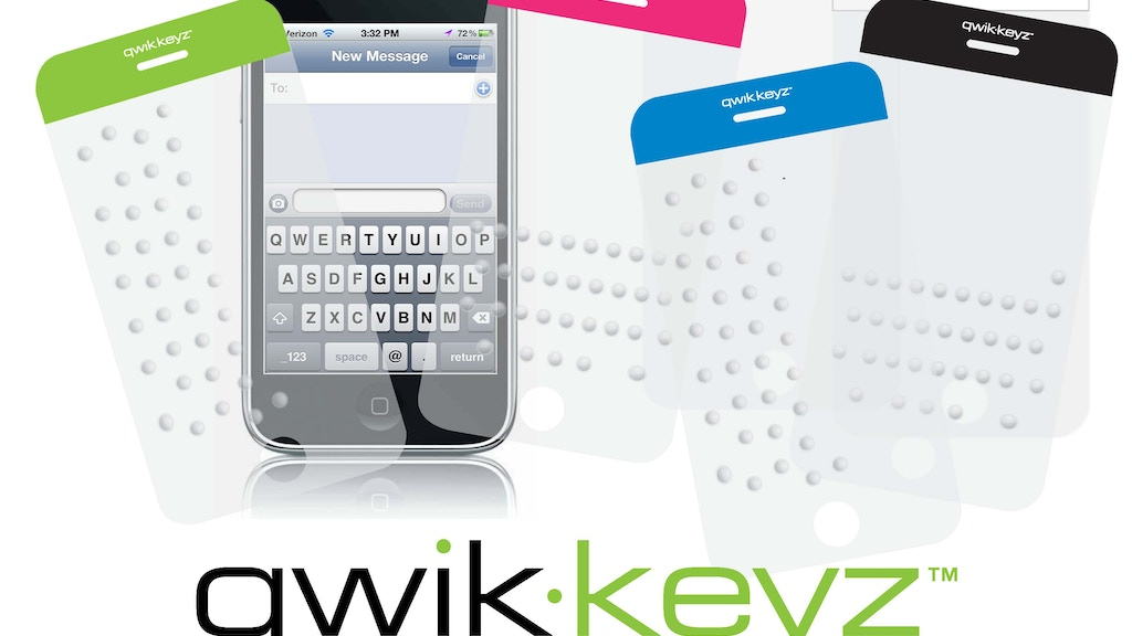 qwik-keyz™: Keyboard TouchGuide for the iPhone project video thumbnail