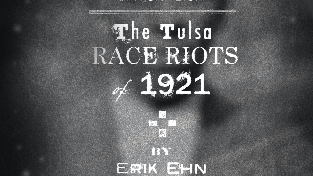 Diamond Dick:The Tulsa Race Riots of 1921 goes to NYC project video thumbnail