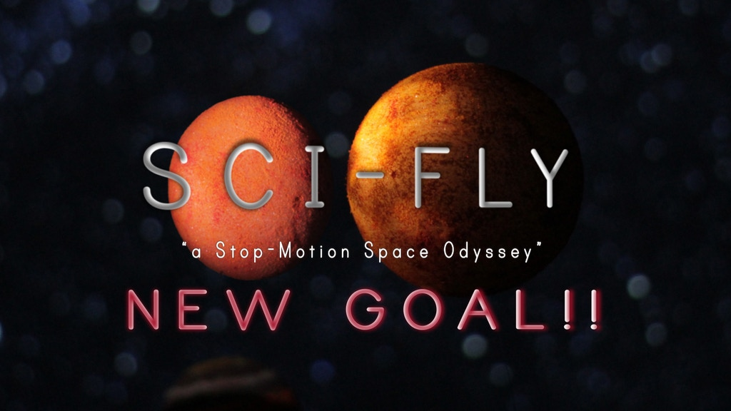 """SCI-FLY   """"a Stop-Motion Space Odyssey"""" project video thumbnail"""