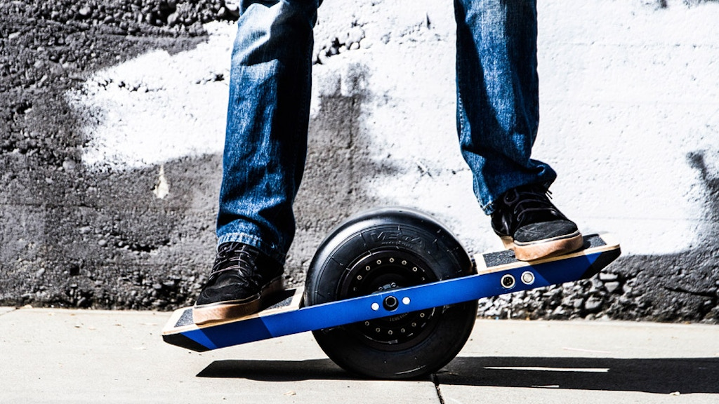 Onewheel :: The Self-Balancing Electric Skateboard project video thumbnail