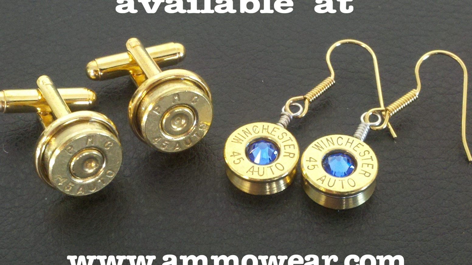Ammo Wear Hand Crafted Bullet Casing Jewelry By Byron Bartlett