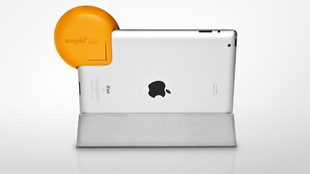 Amplifiear: Better sound for the new iPad and iPad 2 project video thumbnail