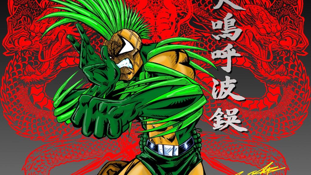 Pineapple Man Graphic Novel project video thumbnail