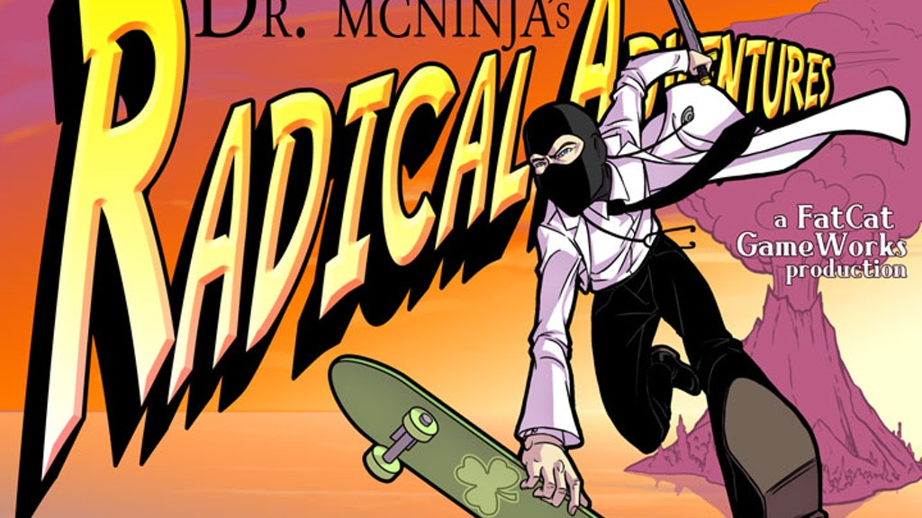 Dr. McNinja's Radical Adventures! project video thumbnail