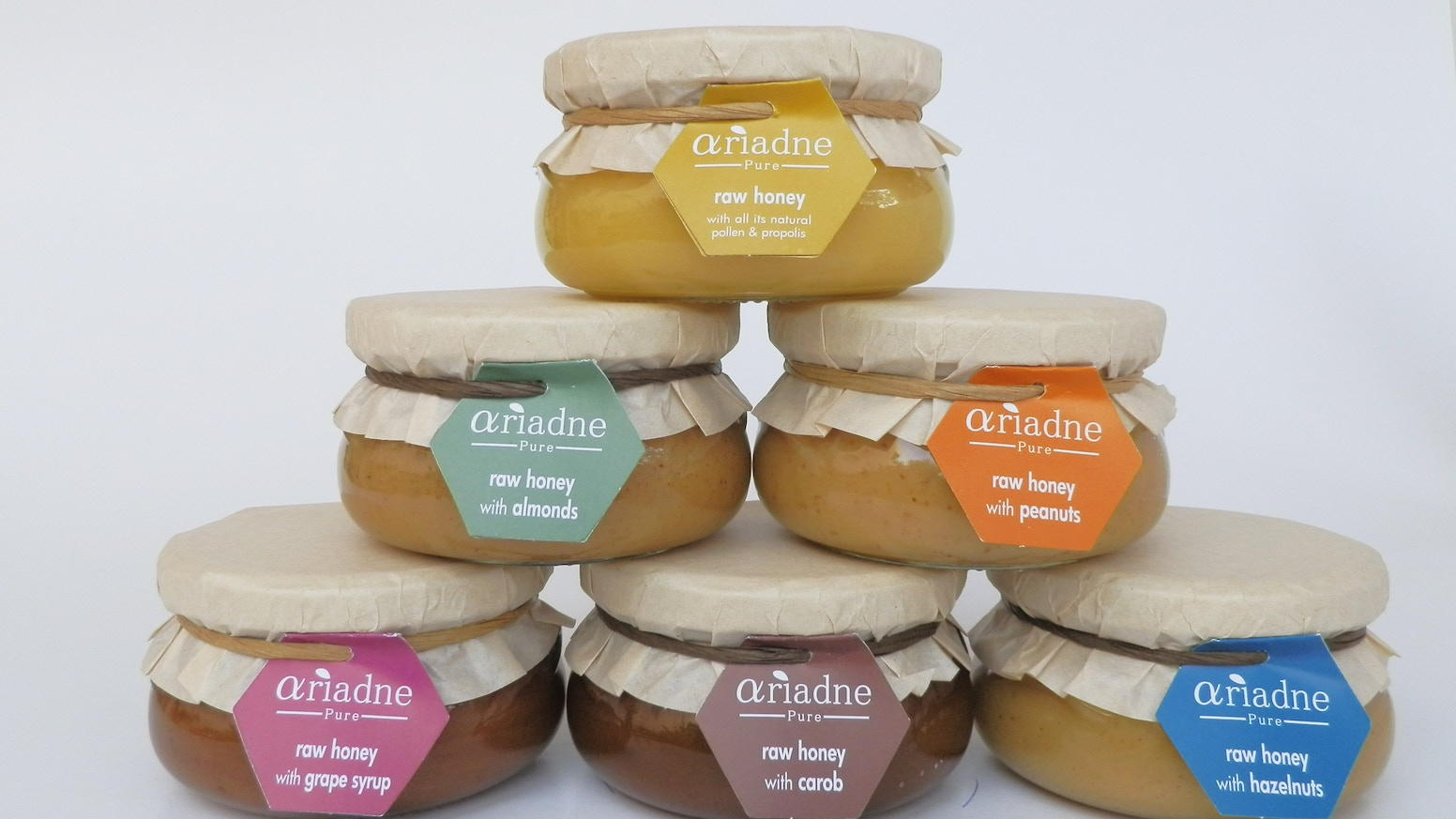Ariadne Pure Organic Honeys & Honey Spreads by Tasos