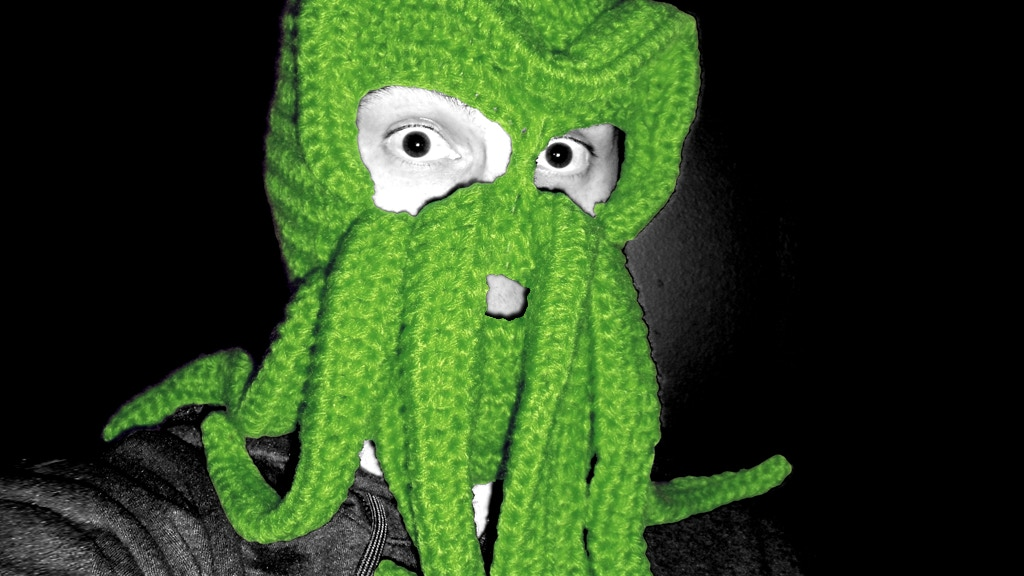 Cthulhu Knitted Ski Mask project video thumbnail
