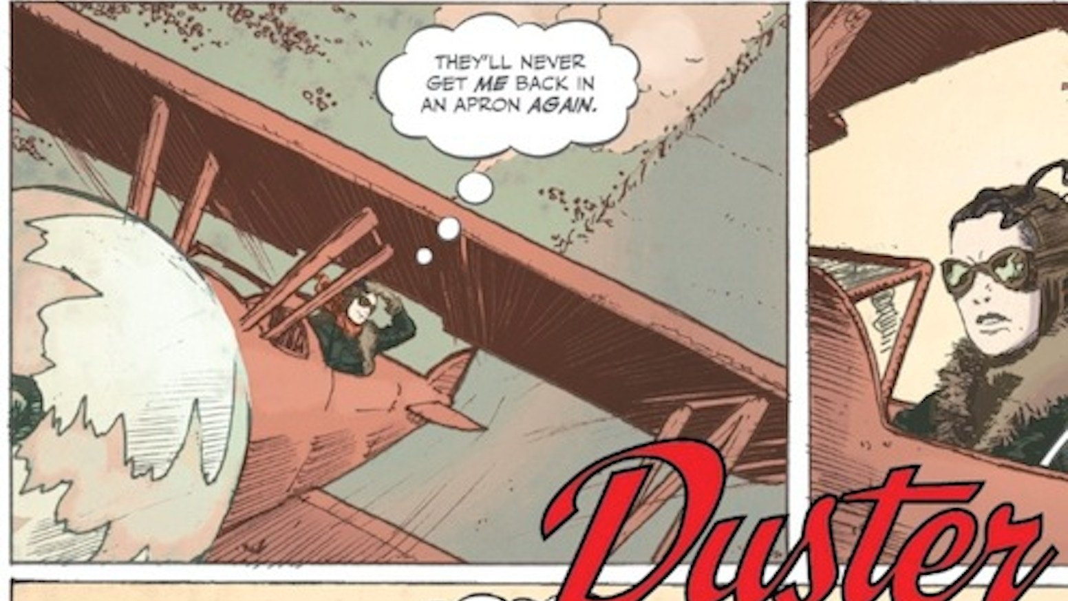A female cropduster pilot fights to save her daughter from Nazis in 1940's Texas! DOWNLOAD THE FIRST 40 PAGES FREE!