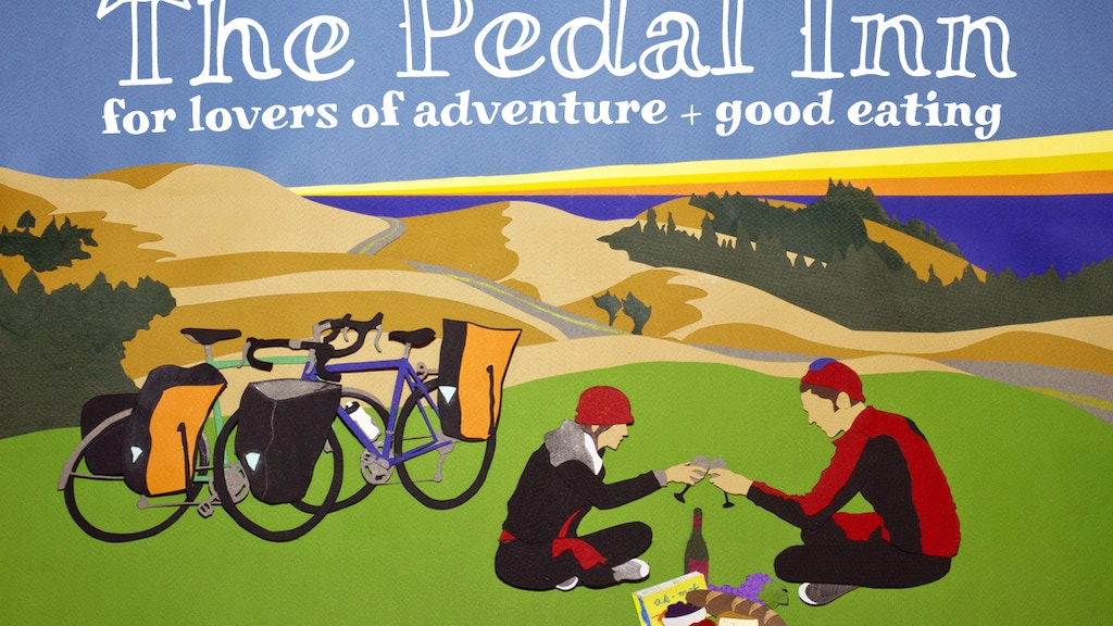 The Pedal Inn Cookbook for all bike, food + adventure lovers project video thumbnail