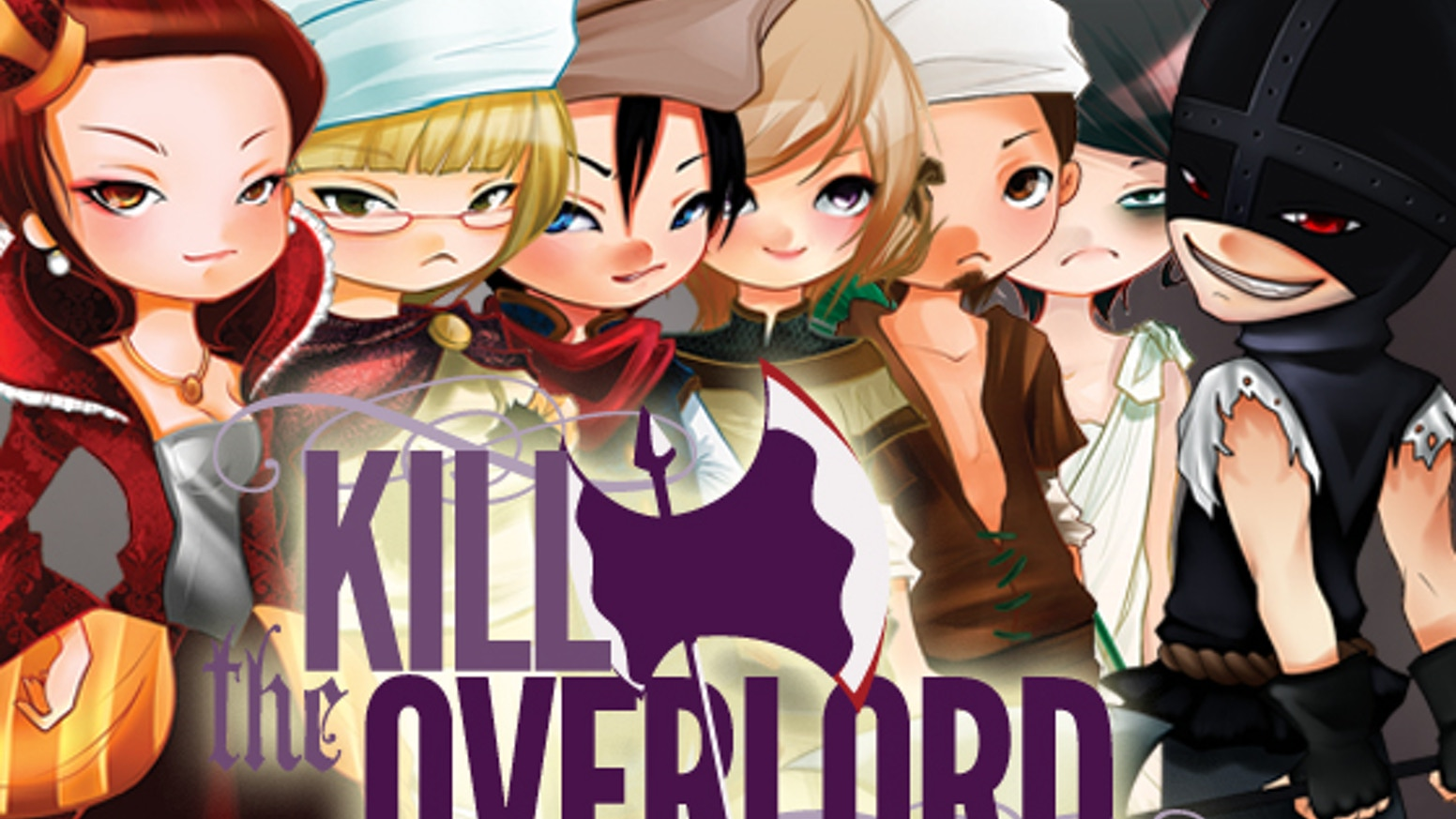 Who will be first to lose their head? Once the axe swings, not even the Overlord is safe! KTO is a party game for 4-8 rapscallions. You can still get KTO - just click the button below!