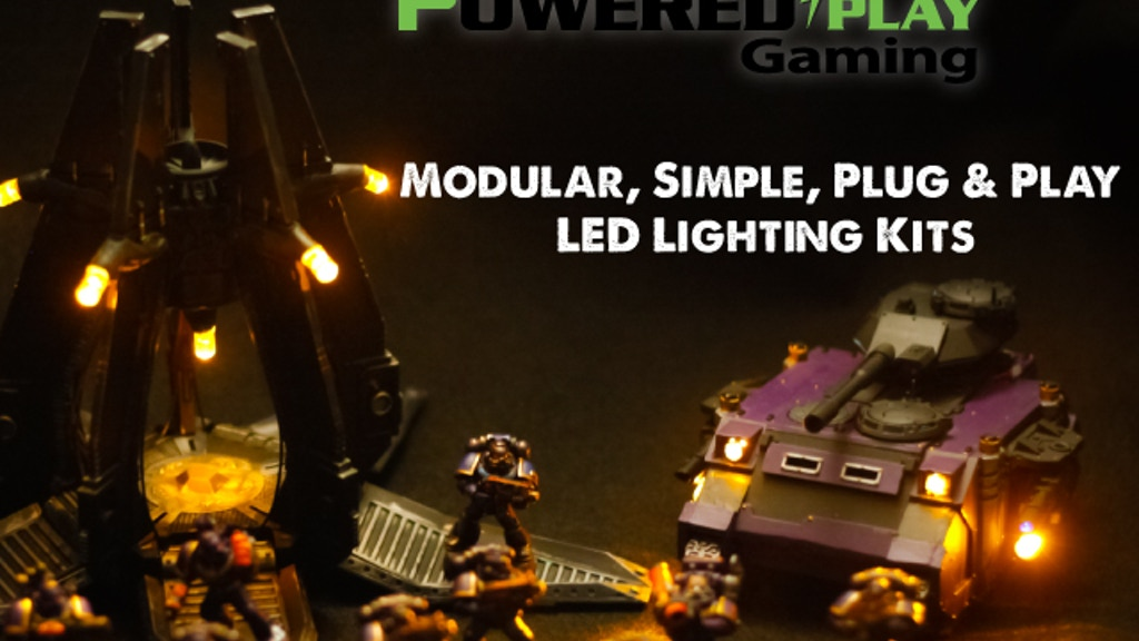 Modular LED Lighting Kits - By PoweredPlay Gaming project video thumbnail