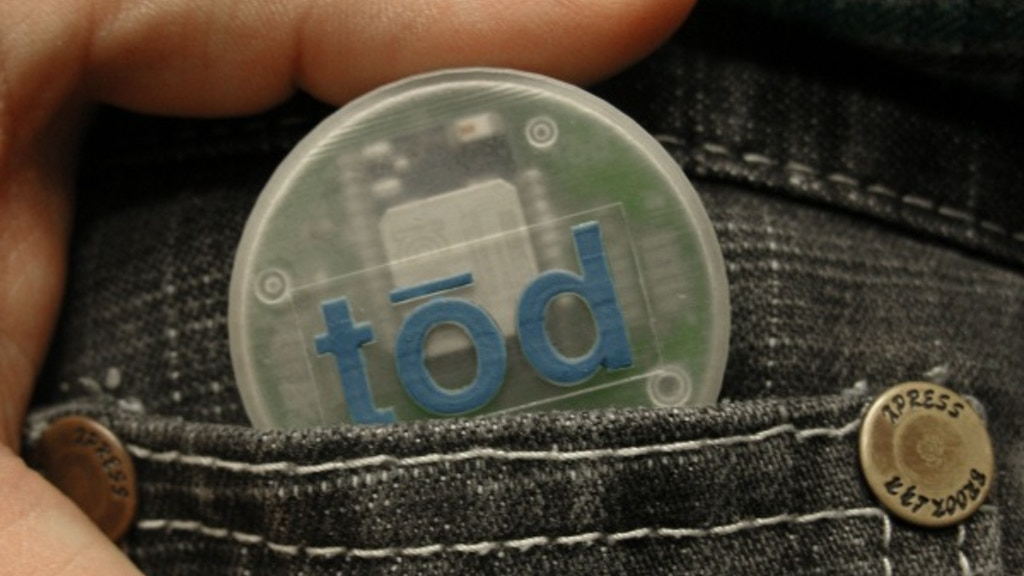 tōd:Connect Real World Actions to Mobile Devices and the Web project video thumbnail