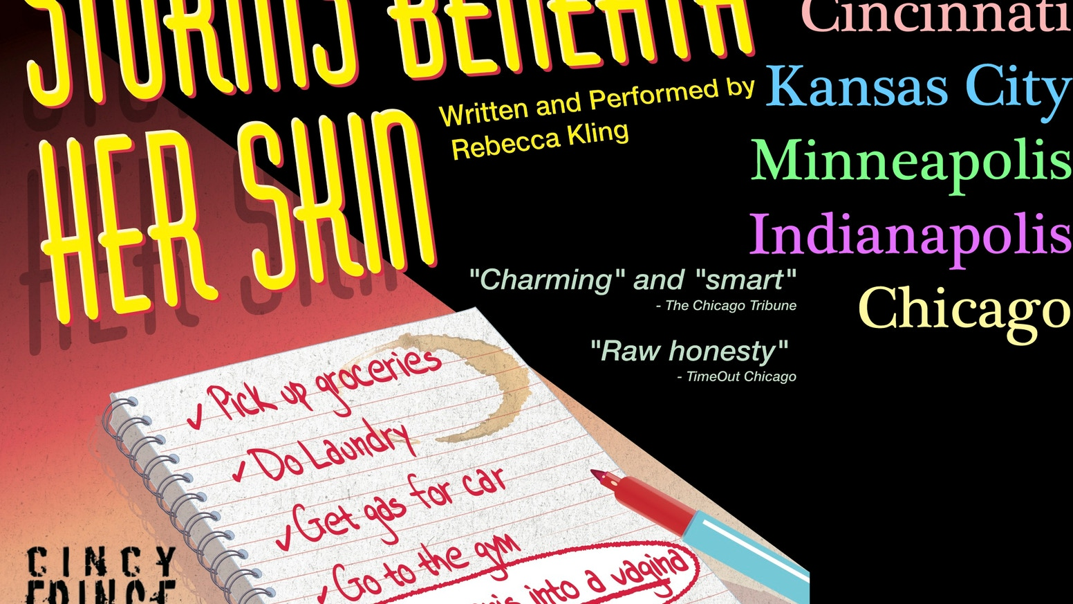 Storms Beneath Her Skin - Midwest Tour 2012 by Rebecca Kling » WOW