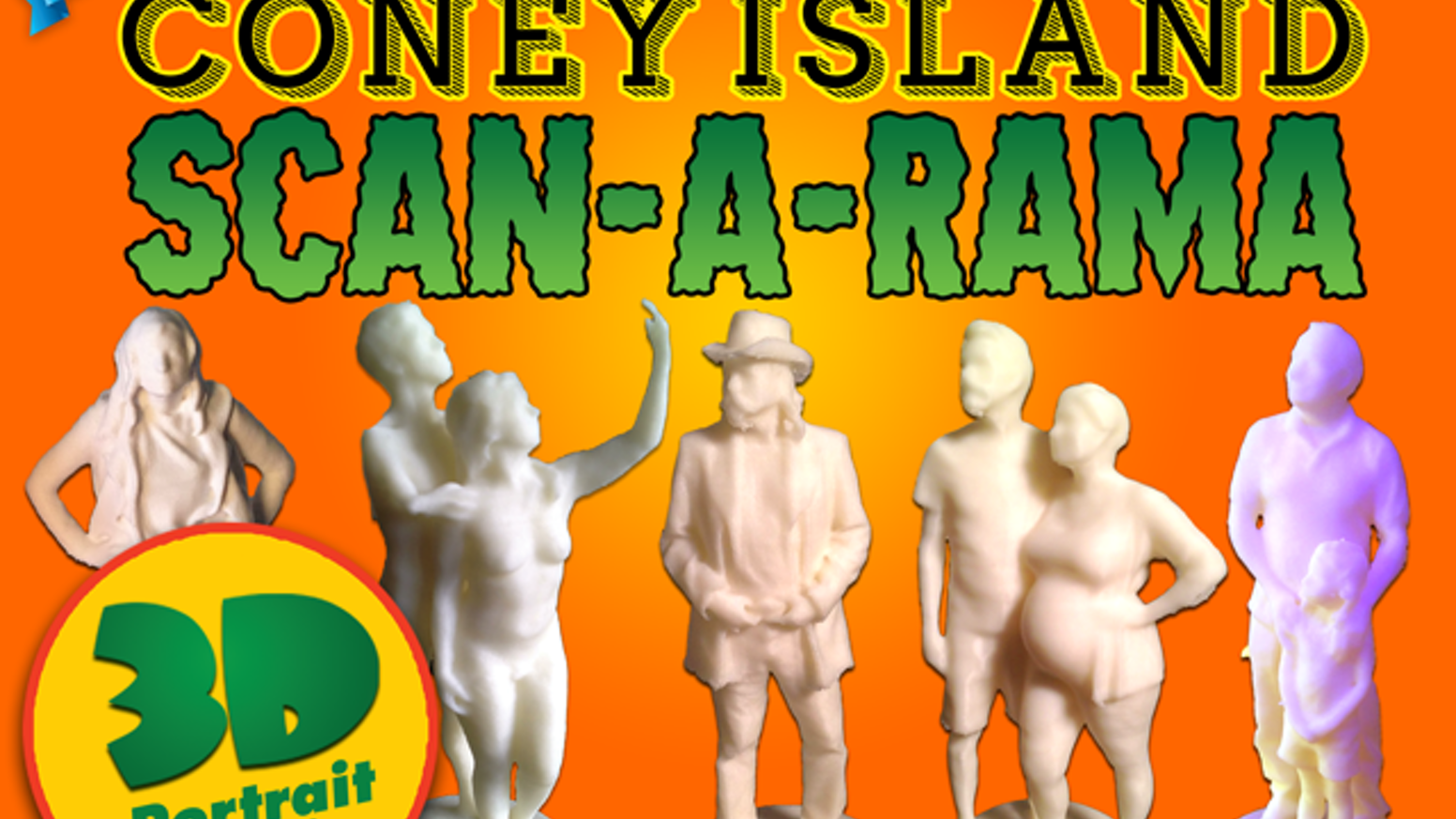Coney Island Scan A Rama By Fred Kahl Seasons Greetings From