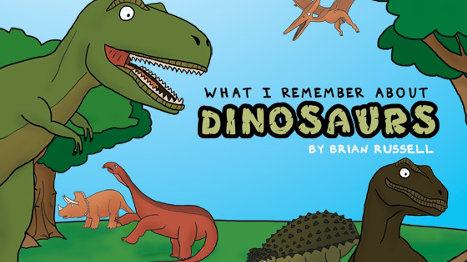 A quirky and humorous children's book about dinosaur facts I learned nearly 30 years ago to share my love for dinosaurs!