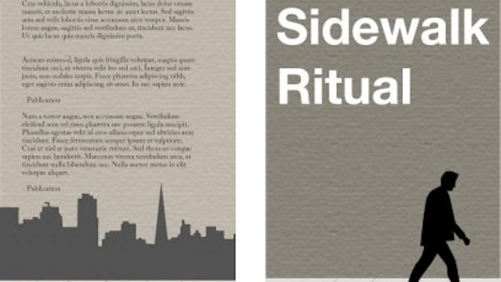 Sidewalk Ritual, the novel: A Social Publishing Project project video thumbnail