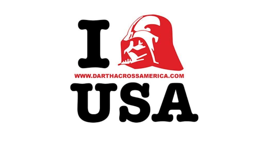 Darth Across America project video thumbnail
