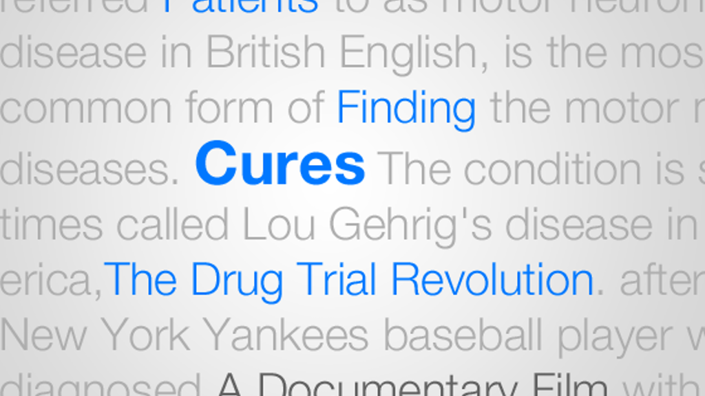 Patients Finding Cures: The Drug Trial Revolution project video thumbnail