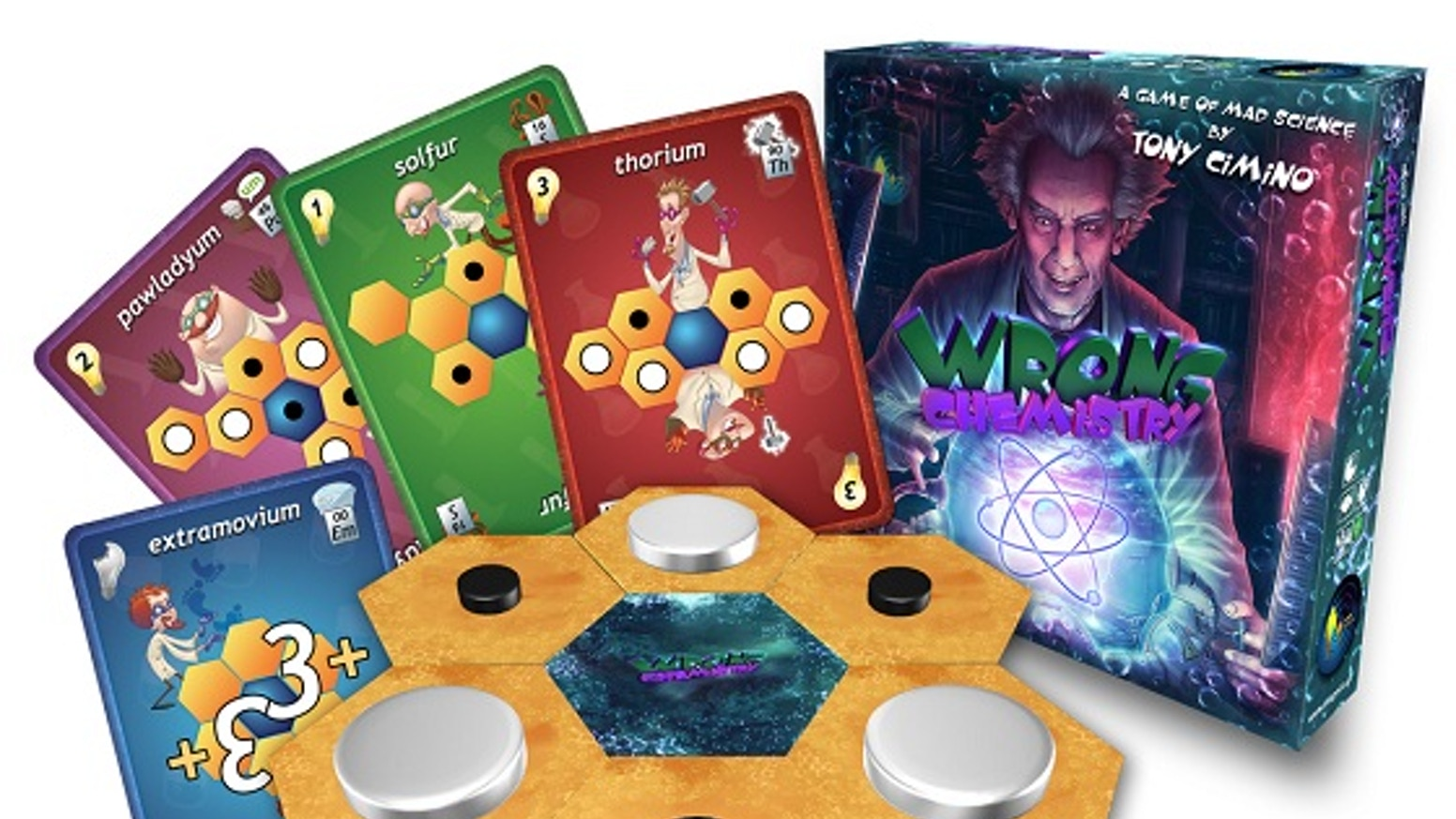The Mad Scientists are out and decided to alter the nature of the elements. Prepare yourself for a Game of Mad Science!