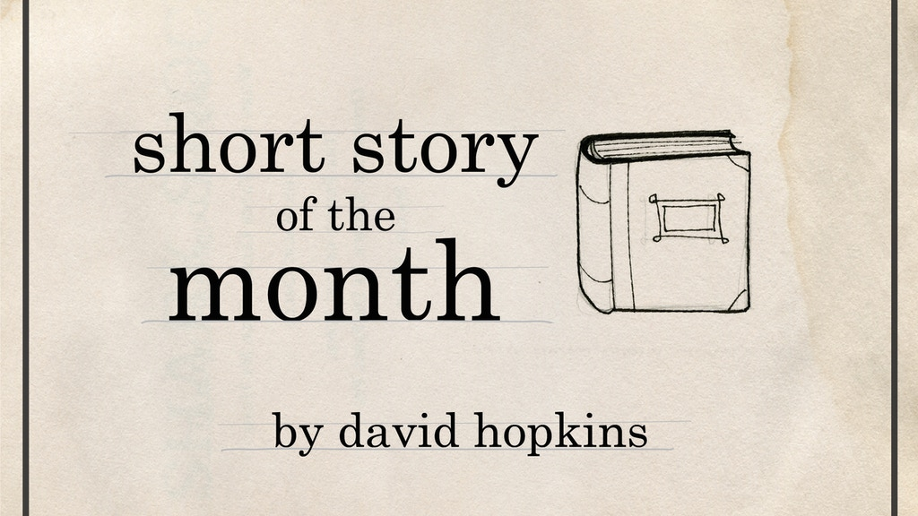 Short Story of the Month Club project video thumbnail