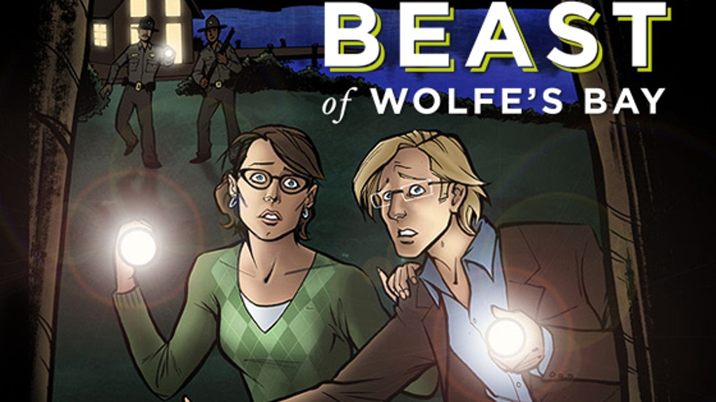 The Beast of Wolfe's Bay: Graphic Novel project video thumbnail