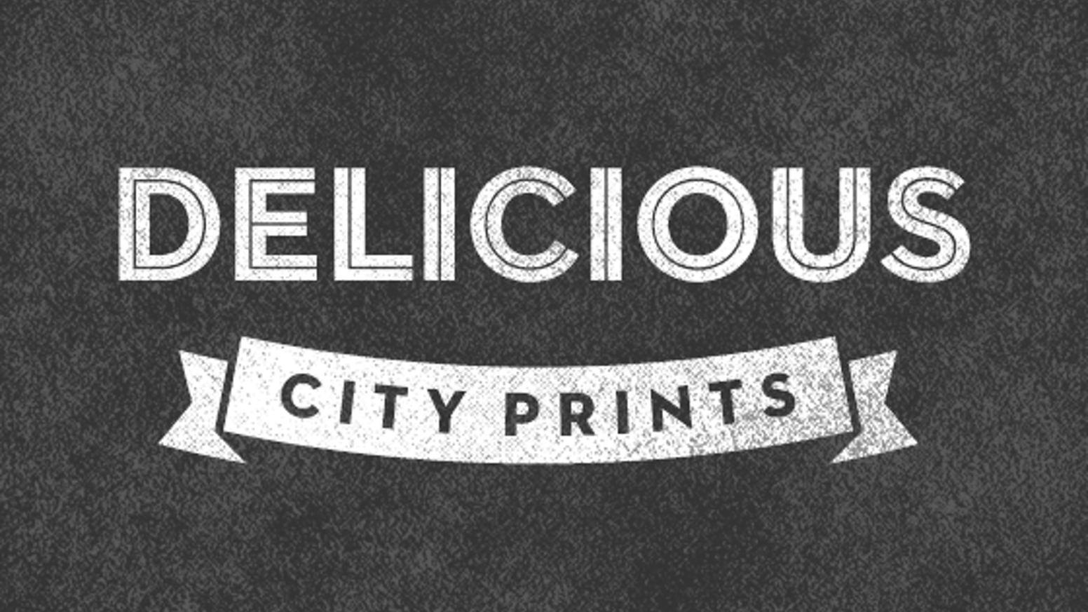 A typographic poster series that celebrates the delicious foods from different cities.