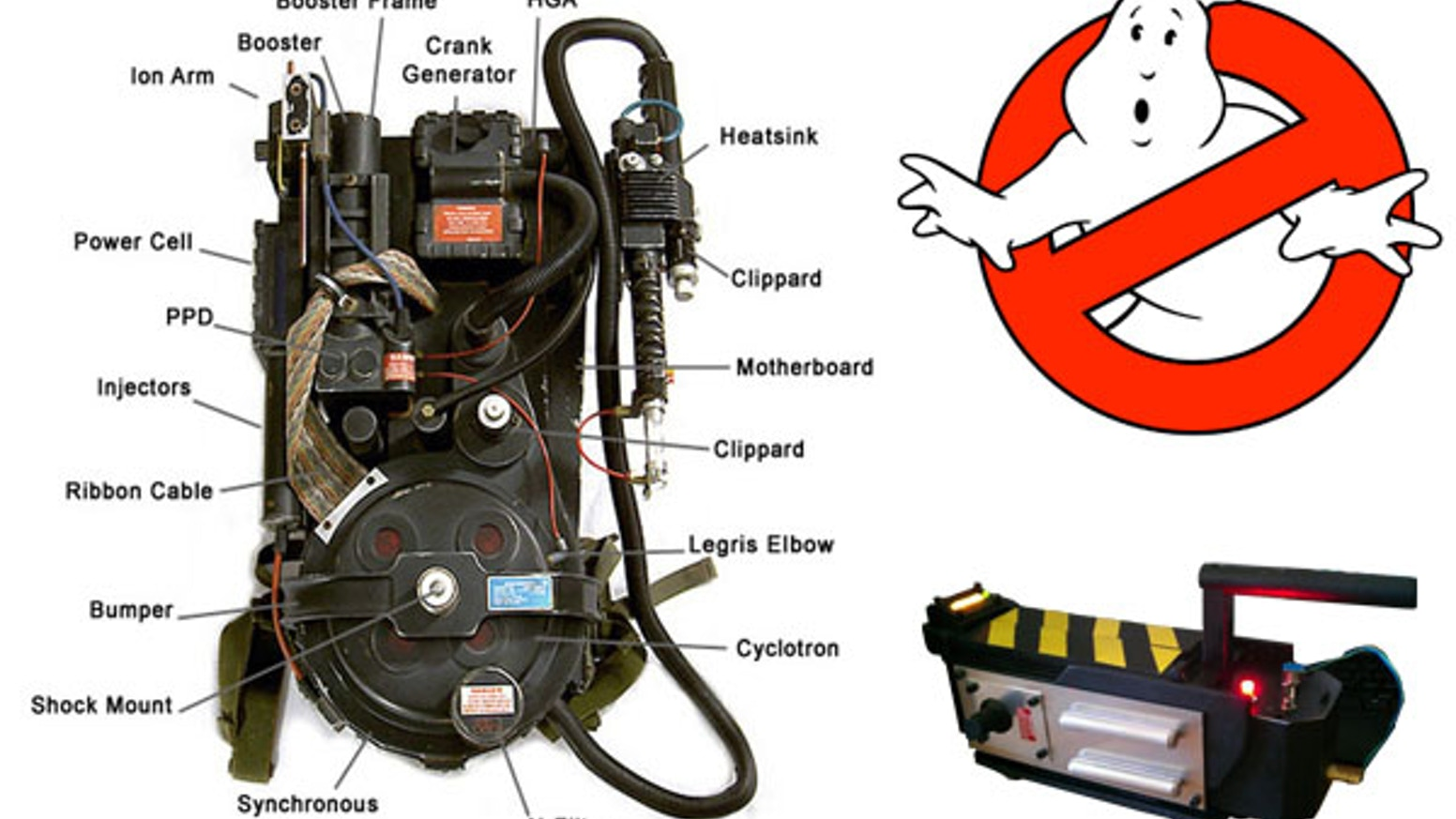 the ghostbusters proton pack project by kristian hillsman