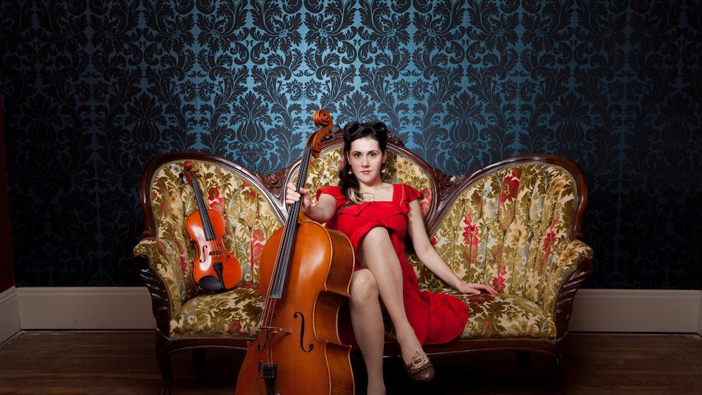 Ashia & the Bison Rouge, Cellist Songbird, Records an Album! project video thumbnail