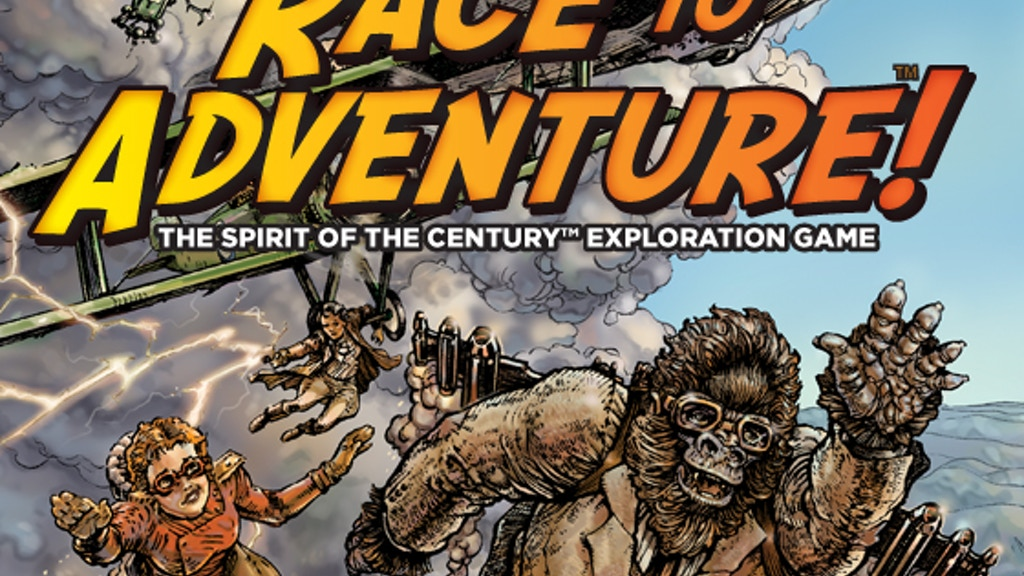 Race to Adventure! A Spirit of the Century™ Board Game project video thumbnail