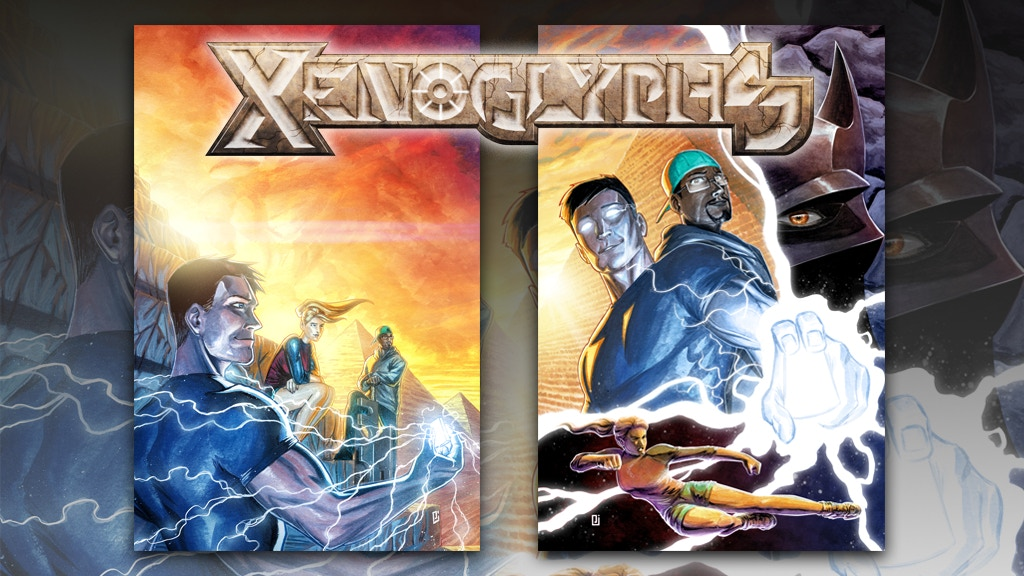 XENOGLYPHS: THE COMPLETE SERIES project video thumbnail